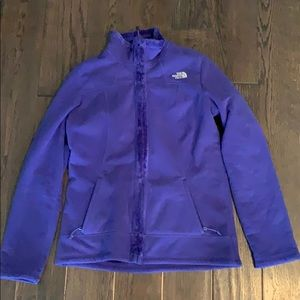 Purple M fleece north face